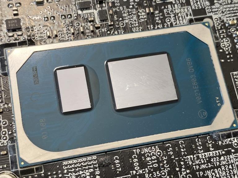 """Матрица процессора Intel """"Tiger Lake"""""""