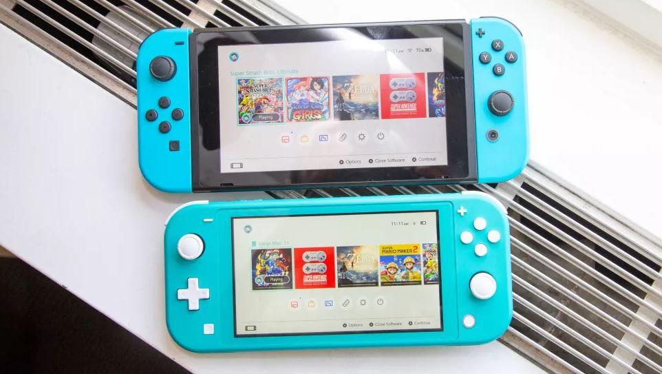 Nintendo Switch и Nintendo Switch Lite