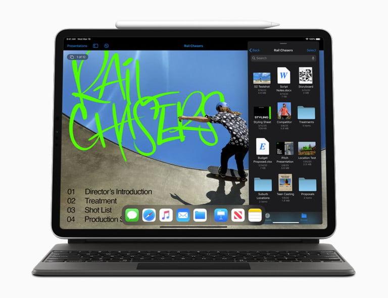 iPad Pro намного портативнее чем MacBook Air