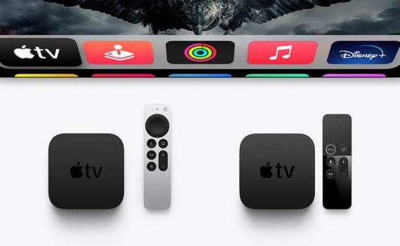 Apple TV 4K (2017 г.) и Apple TV 4K (2021 г.)