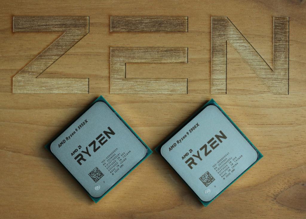 Процессоры серии Ryzen 5000
