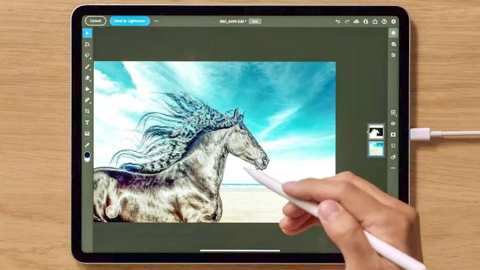 В 12,9-дюймовом iPad Pro 2021 дисплей Liquid Retina XDR с подсветкой mini‑LED