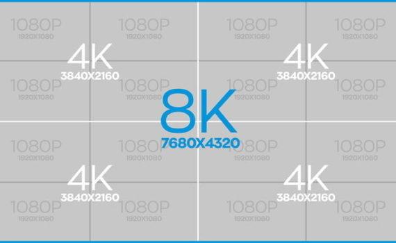 Разрешение 8K