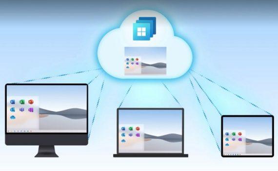 Windows 365 как услуга может использоваться на любом типе устройства, независимо от форм-фактора или операционной системы
