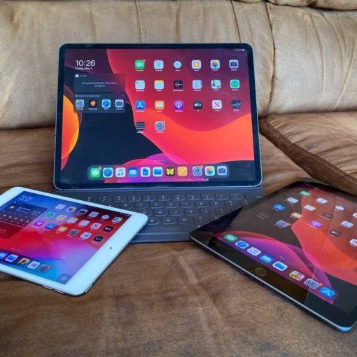 iPad Air (2020), IPad Pro 12,9 дюймов (2021 г.), iPad Mini (2019)