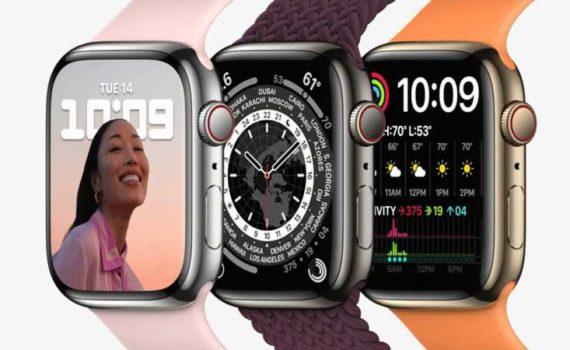 Apple Watch Series 7 большой дисплей, повышенная прочность и более быстрая зарядка
