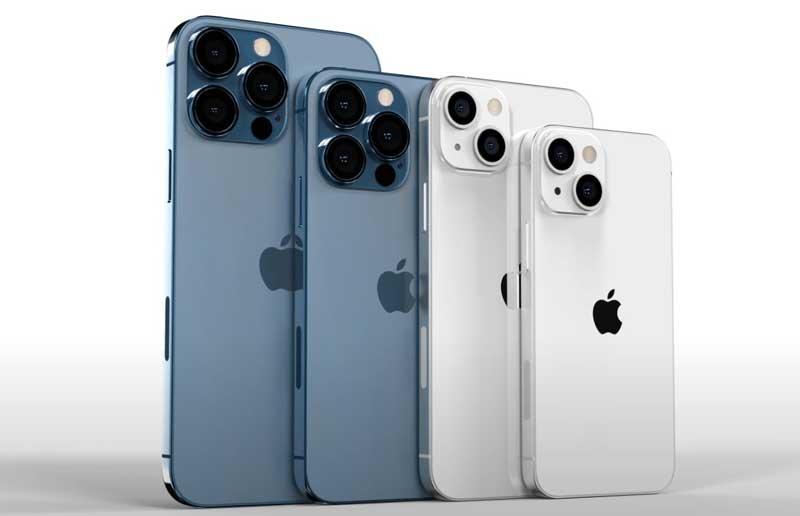 iPhone 13 Pro Max, iPhone 13 Pro, iPhone 13 и iPhone 13 mini последние модели телефонов Apple