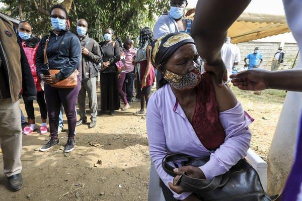 В Кении только 1,5% людей были полностью вакцинированы против COVID-19