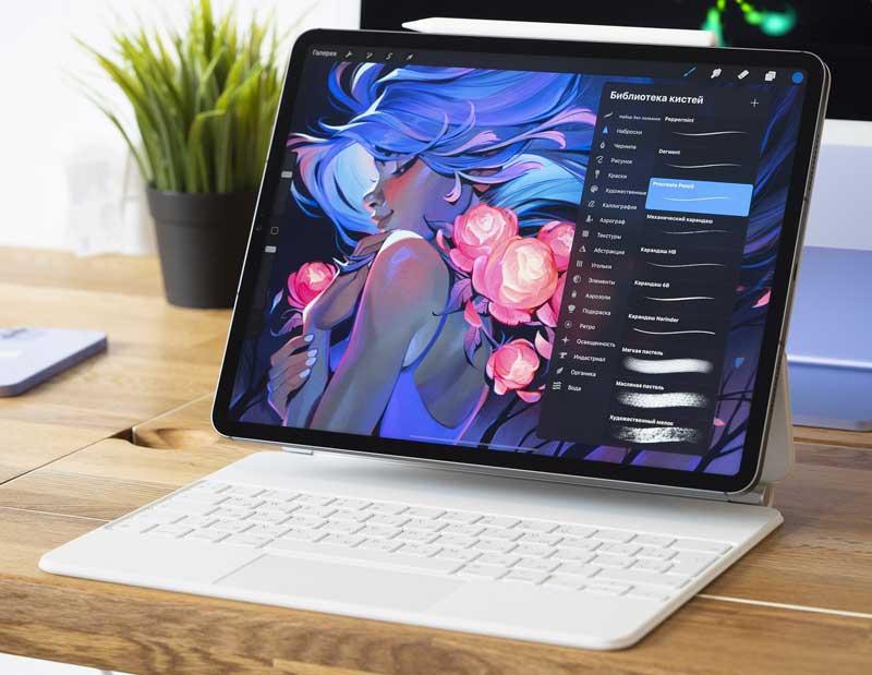 iPad Pro 11 дюймов 5-го поколения работает на улучшенном 8-ядерном ARM-чипе Apple M1