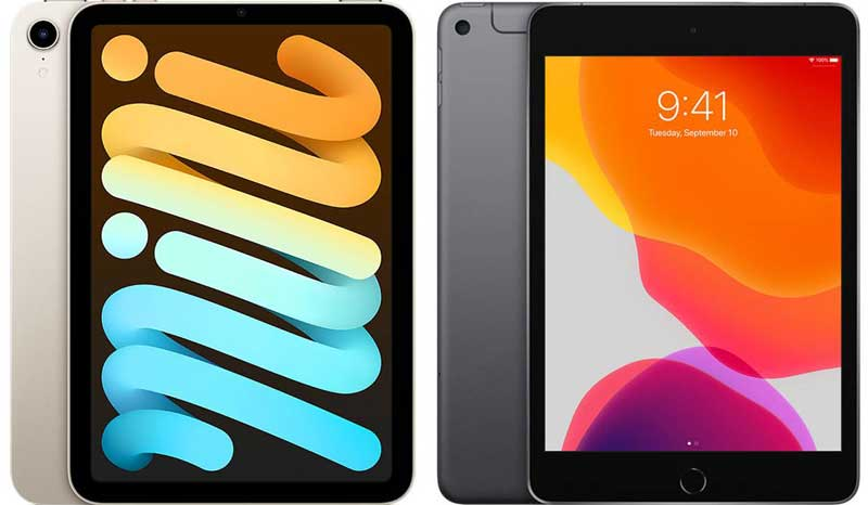 Apple iPad Mini 2021 и iPad Mini 2019