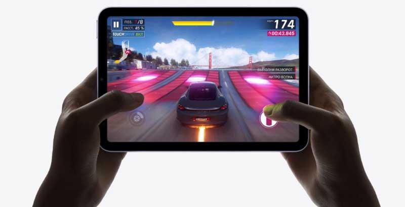 Apple iPad Mini 2021 имеет чип A15 Bionic, что делает его очень мощным