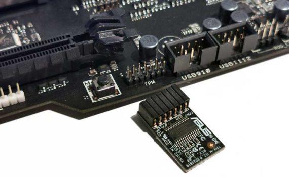 Модуль TPM это микросхема безопасности, состоящая из криптографического процессора и встроенной памяти